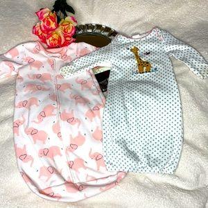 Baby Bundle Sleeper Gown & Sack 0-9M
